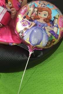Sofia the first party ballon