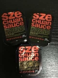 Rick and Morty MCD Szechuan Sauce LIMITED EDITION