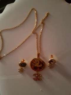 CC jewelry set