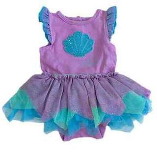 Disney Ariel Mermaid Dress NB 550