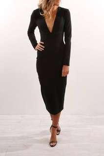 Black dress - finders keepers size m