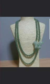 Natural A grade jadiete necklace