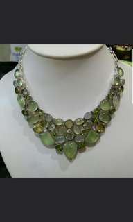 Statement Gem Necklace
