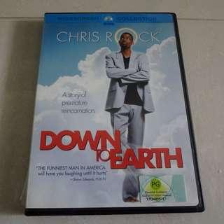 Chris Rock Down To Earth Original DVD Movie