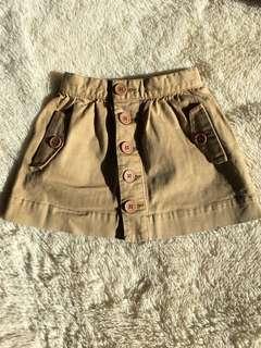 Seed Button Skirt