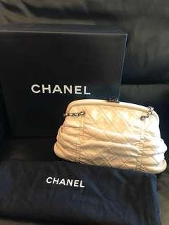 Chanel lamb leather handbag
