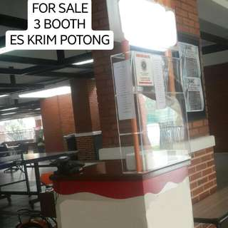 Booth Es Krim Potong Gerobak Sepeda
