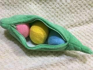 Pea Pod toy
