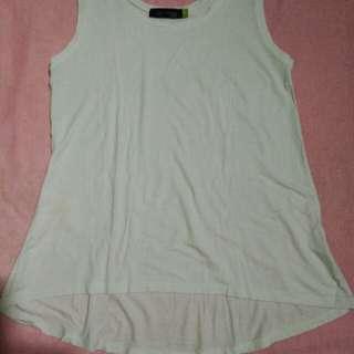 Coco cabaña white long blouse