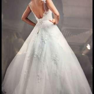Wedding Gown 婚紗 齊地 背心