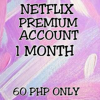 Netflix Premium Account
