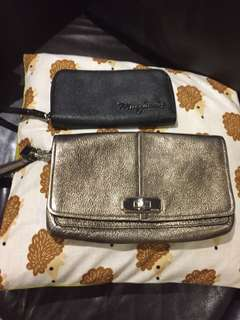 Marc Jacob purse. And coach clutch