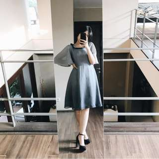 Grey Ombre Dress