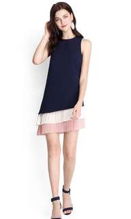 BNIB Colours Of The Wind Dress In Navy Blue (S)