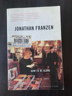 How to Be Alone by Jonathan Franzen