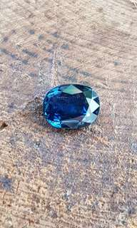 Unheated n untreated Blue sapphire 3.127 carats