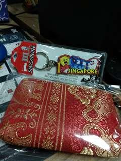 Dompet gajah +gantungan kunci