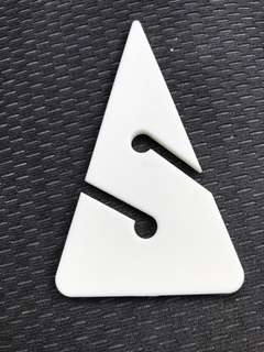 Diving scuba cave directional arrows line marker in standard size