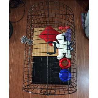 dog cage xlarge non foldable please buy it asap
