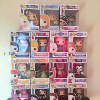 Disney and Female Pops for Sale!
