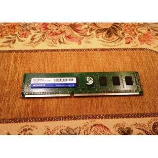 🚚 ADATA威剛 DDR3 4G 記憶體 終身保固