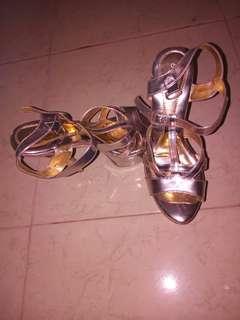 Heels silver