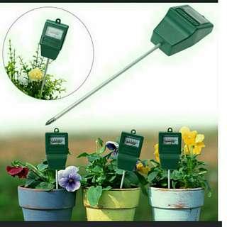 pH Level Tester & Soil Moisture Meter for Plants Crops Flowers and Vegetables