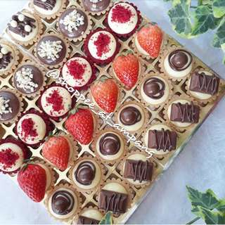 Ordered by Suzana - 36pcs Assorted Cheese Tart