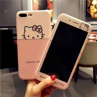 free tempered glass iphone casing
