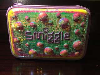 Smiggle authentic hard top double case large