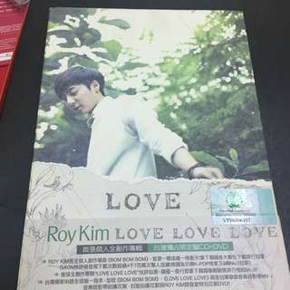 Roy Kim Love Love Love CD
