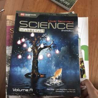 Lower Secondary Science Textbooks