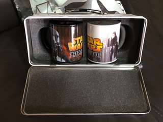 Star Wars Ep lll Porcelain Cup