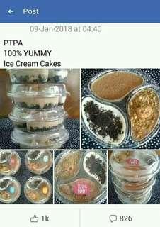 100% YUMMY Ice Cream Cakes