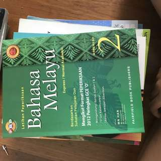 Malay Workbook / Exam Papers Secondary 2 NA