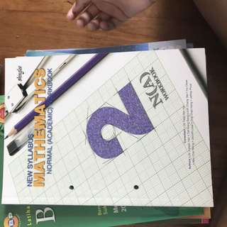 Secondary 2 NA Maths Practice Book