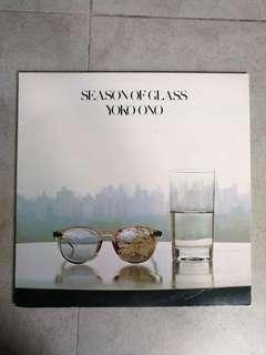 Yoko Ono Season of Glass vinyl