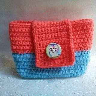 Handmade Crochet Pouch
