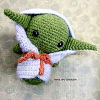 Crochet Yoda Doll / Star Wars Amigurumi