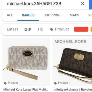 Michael kors mk wristlet wallet