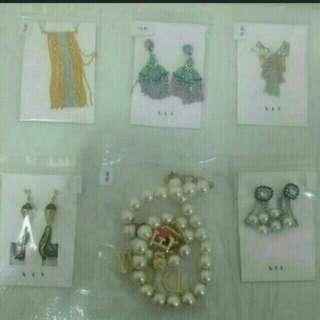 6 Sets BTS Jewellery Earrings