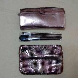 Lunasol Brushes, Clutch Bag & Cosmetic Bag 化妝掃, 小晚裝袋及化妝袋