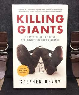 # Highly Recommended《Bran-New + The Successful Raise of Start-up and its Winning Strategies In New World》Stephen Denny - KILLING GIANTS : 10 Strategies to Topple the Goliath in Your Industry