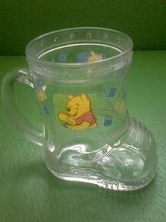 Winnie the Pooh shoe glass