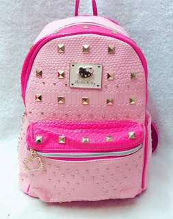 Hello kitty leather bagpack