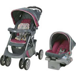 Graco stroller & infant car seat
