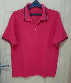 Kaos Polo Merah Jack Spicklaus