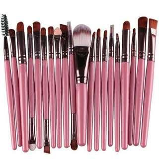 Marble brush make up 20 set