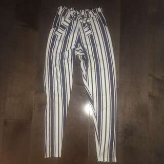 Petite BOOHOO Stripes Pants