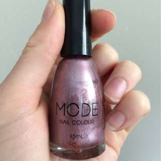 MODE nail polish - lilac dawn